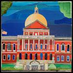 """State House"" by Danny O 12"" x 12"" $55.00 limited edition print"
