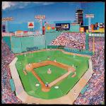 """Fenway Inside"" by Danny O 12"" x 12"" $55.00 limited edition print"