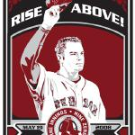 """Jon Lester"" by Chris Speakman 17"" x 21"" $50 silkscreened prints signed and numbered"