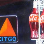 """Citgo at Foul Line""  by Tom McCarthy 20"" x 24""   $300.00  limited edition print signed & numbered"