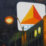 """Citgo from Beacon Street""  by Tom McCarthy 20"" x 16""   $300.00  limited edition print signed & numbered"