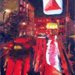 """Citgo at Brookline Ave.""  by Tom McCarthy 20"" x 16""   $300.00  limited edition print signed & numbered"
