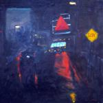 """Brookline Citgo""  by Tom McCarthy 20"" x 20""   $300.00  limited edition print signed & numbered"